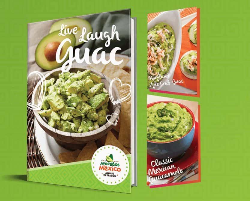 FREE Avacado Recipe E-Book