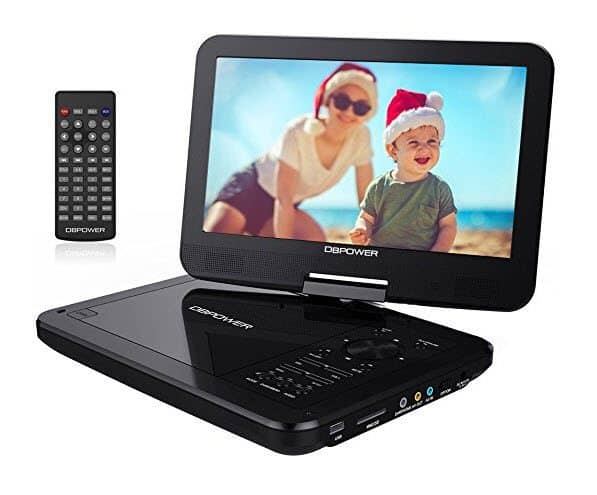 """DBPOWER 10.5"""" Portable DVD Player ONLY $45.99"""