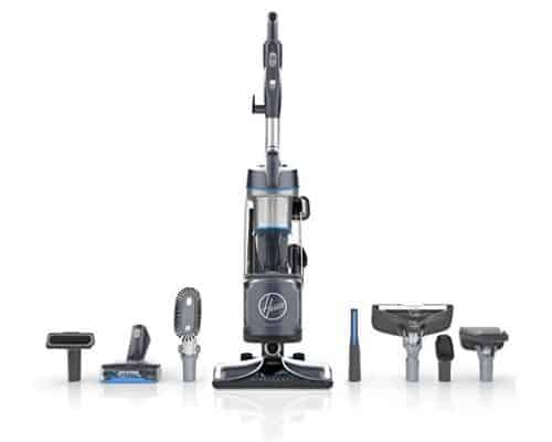Hoover REACT Powered Reach Premier Bagless Upright Vacuum $140.63 (Was $350)