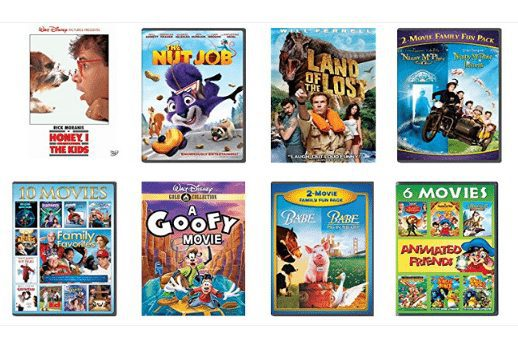 Kids and Family DVDs Only $5.00 Each