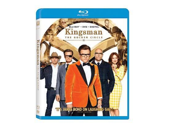 Kingsman 2: The Golden Circle Blu-Ray Only $10