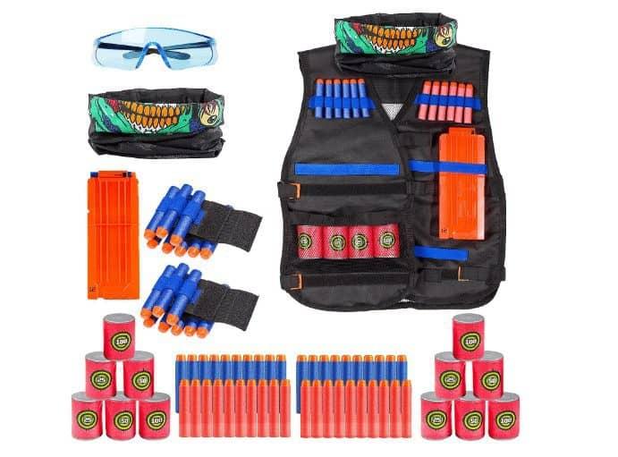 Elover Kids Tactical Vest Kit for Nerf Toys Only $13.13