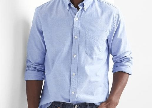 50% off Gap Code = GAP Oxford Men's Shirt ONLY $7.78 (Was $50)