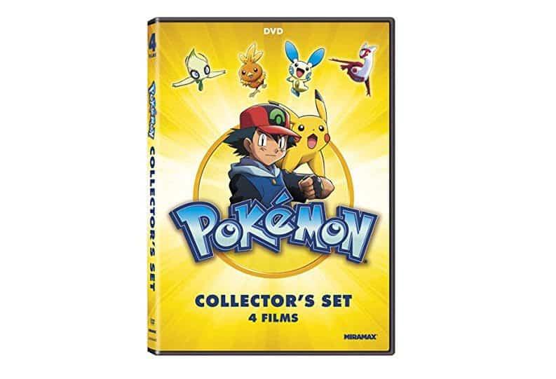 Pokémon Collectors 4-Film Set DVD Only $3.74