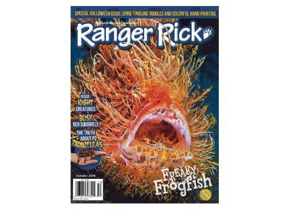 Subscription to Ranger Rick Only $9.99 Per Year