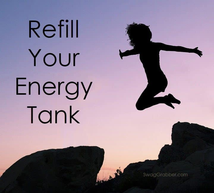 Running on Empty?  How to Refill your Energy Tank