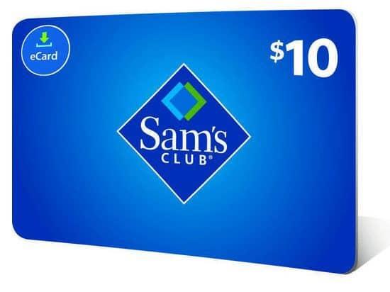 Sam's Club Members: FREE $10 eGift Card w/ $20+ Purchase