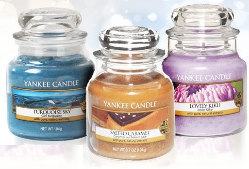 Yankee Candle - 3 Small Jar Candles ONLY $10