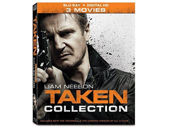 Taken 3-Movie Collection Blu-Ray ONLY $12.99
