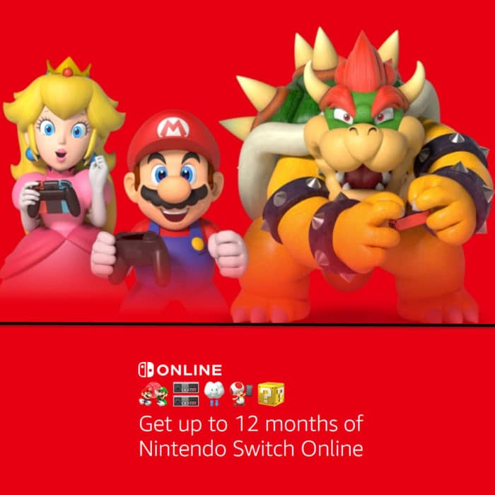 Get a FREE 12 Month of Nintendo Switch Online Membership