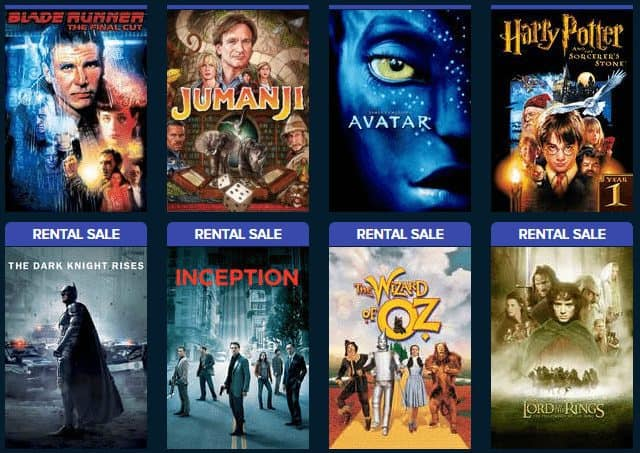 VUDU: Rent Movies for Only 50¢ Each