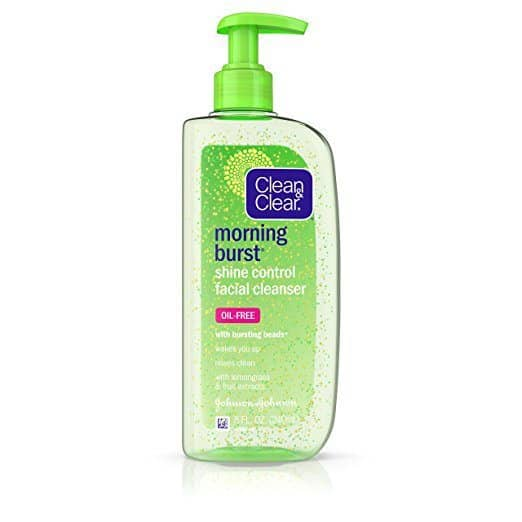 Clean & Clear Morning Burst Shine Control Facial Cleanser, 8 Oz ONLY $3.00 (Was $10)