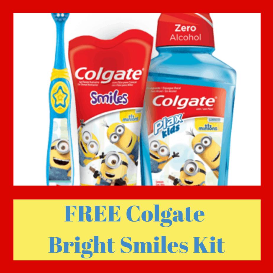 FREE Colgate Bright Smiles Kit for Teachers