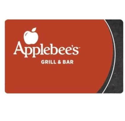Applebee's Gift Card only
