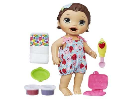 Baby Alive Super Snacks Snackin' Lily Only $13.99