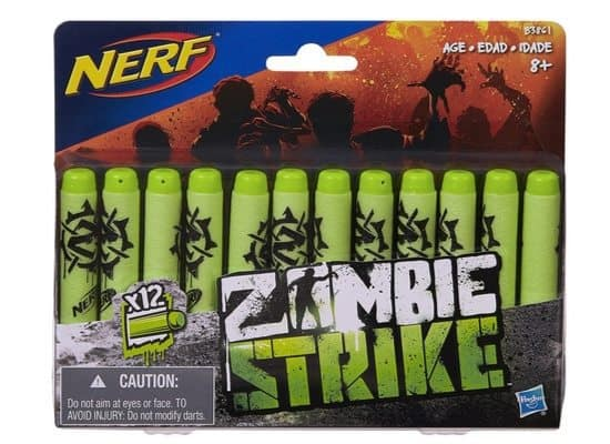 Official Nerf Zombie Strike 12-Dart Refill Pack Only $1.81