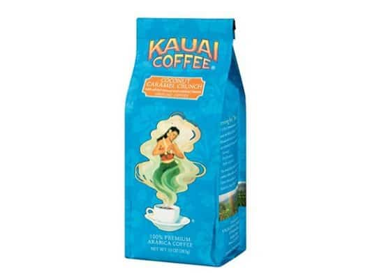 Kauai Coffee Coconut Caramel Crunch Ground Coffee Only $4.41 Shipped