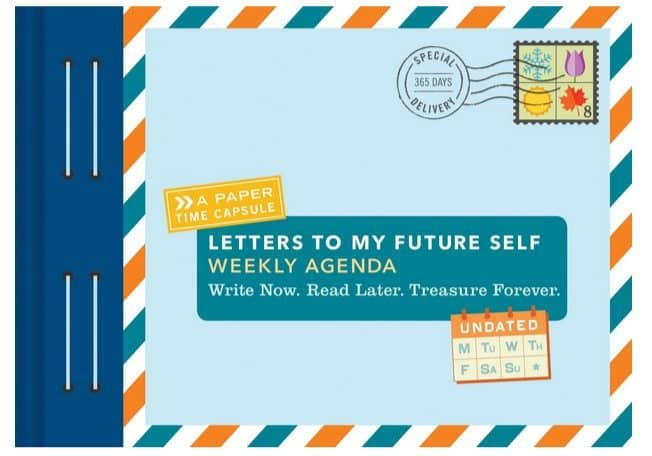 Letters To My Future Self Weekly Agenda Calendar Only $3.85 (Was $16)