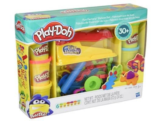 Play-Doh Fun Factory Deluxe Set Only $9.88