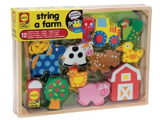ALEX Toys Little Hands String A Farm Only $8.22