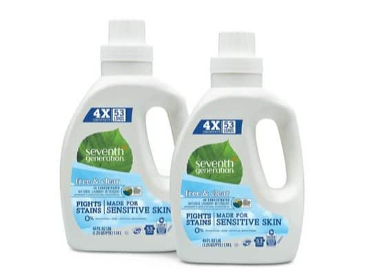 Seventh Generation Laundry Detergent 2-Pack $12.73 Shipped **Only $6.37 Each**