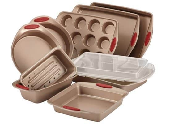 Rachael Ray Cucina 10-Piece Nonstick Bakeware Set $64.99 (Was $200) **Highly Rated**