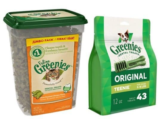Up to 53% Off Greenies Dental Treats **Today Only**