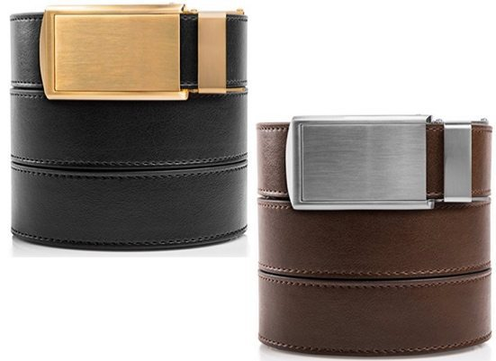 SlideBelts Men's Leather Ratchet Belts $29.95 (Was $75) **Highly Rated**