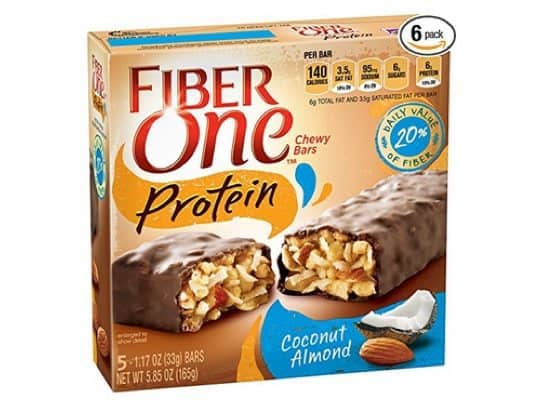 Fiber One Coconut Almond Chewy Protein Bars 6-Pack $14.84 Shipped **Only $2.47 Per Box**