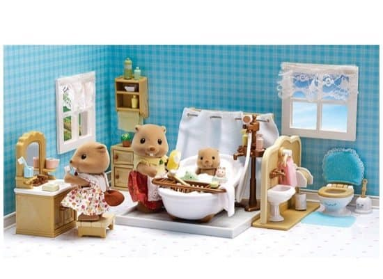 Calico Critters Deluxe Bathroom Set Only $12 (Was $28)