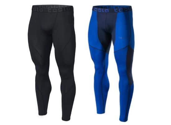 Tesla Men's Baselayer Compression Pants as low as $7.98 **Today Only**