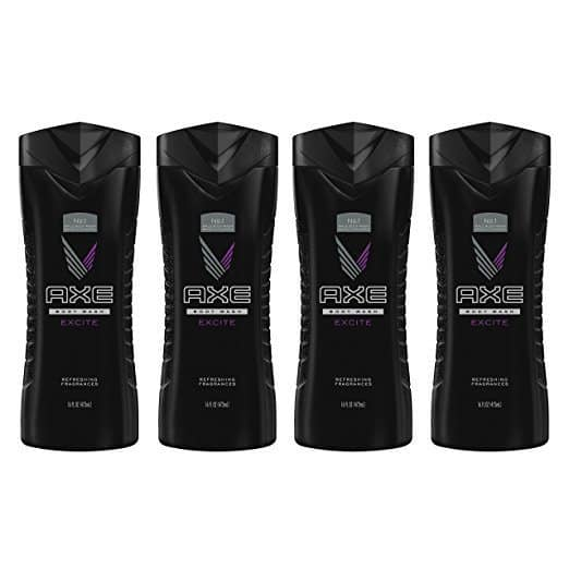 AXE Body Wash for Men, Excite 16 oz, 4 Count Only $9.64