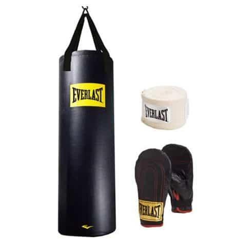 Everlast 100-Pound Heavy Bag Kit $49.99 w/ Free Shipping (Was $100)