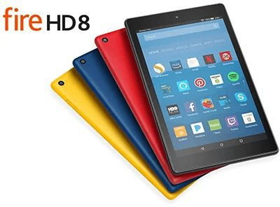 Enter For A Chance To Win An Amazon Kindle Fire HD 8