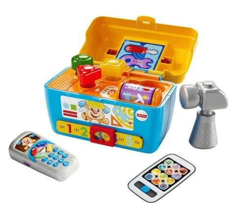 Fisher-Price Laugh & Learn Smart Stages Toolbox ONLY $17.99