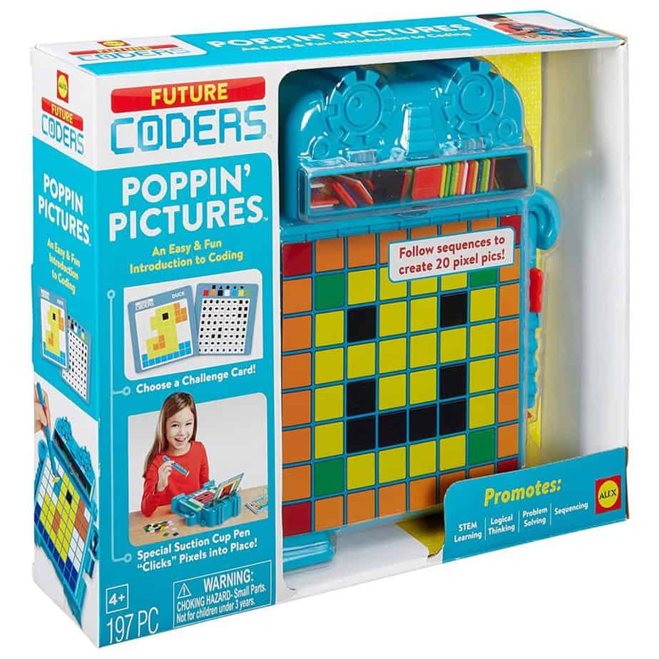 ALEX Toys Future Coders Poppin' Pictures Coding Skills Kit ONLY $5.40