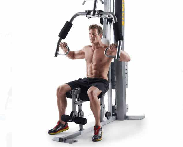 Gold's Gym XRS 50 Home Gym with High and Low Pulley System $197 (Was $400)
