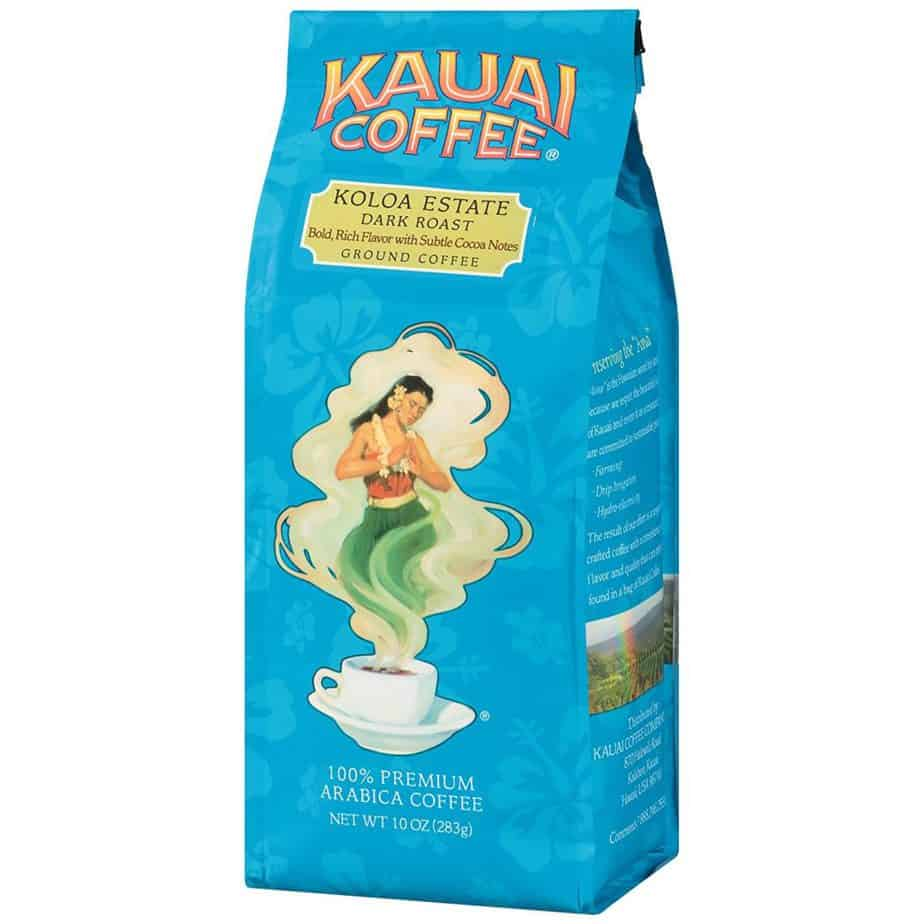 Koloa Estate Dark Roast Ground Kauai Coffee ONLY $3.65
