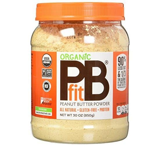 PBfit Organic All-Natural Peanut Butter Powder, 30 Ounce Only $18.41 (Was $30)