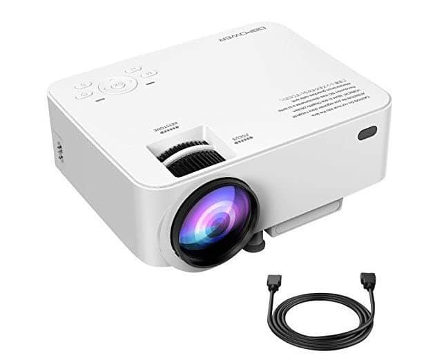 DBPOWER T20 Mini Portable Projector Only $72.99