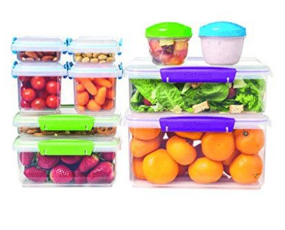 20 Piece Set of Sistema Multi Piece Food Storage Containers Only $15.88 (Was $30)
