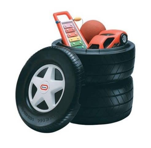 Little Tikes Classic Racing Tire Toy Chest Only $34.99