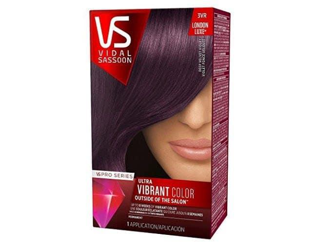 Vidal Sassoon Pro Series Hair Color Deep Velvet Violet ONLY $1.28