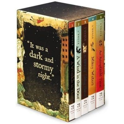 The Wrinkle in Time Quintet Boxed Set Only $10.99 (Was $38)