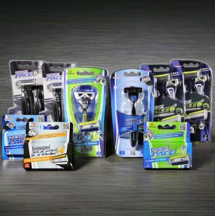 Dorco Pace Frugal Dude Pack $23.85 w/ Free Shipping - Razors for a Year!!!