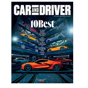 Free Two Year Subscription to Car & Driver Magazine