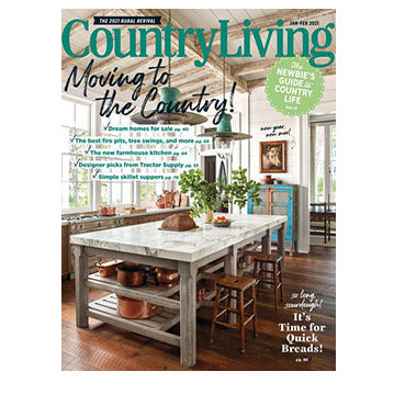 Free Two Year Subscription to Country Living Magazine