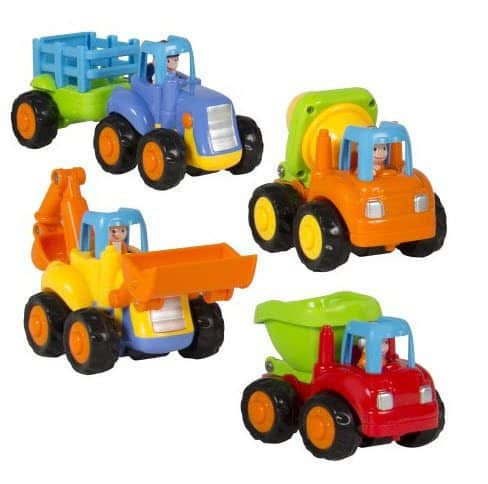 Set of 4 Push and Go Friction Powered Car Toys ONLY $14.95 (Was $44)