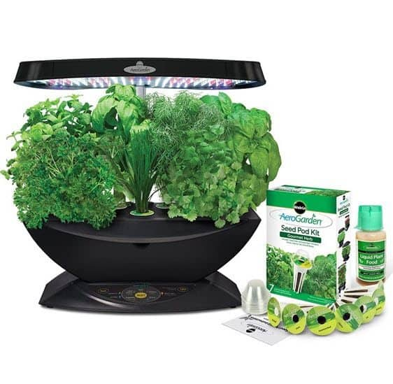 AeroGarden 7 LED Indoor Garden with Gourmet Herb Seed Kit Only $89 (Was $150)