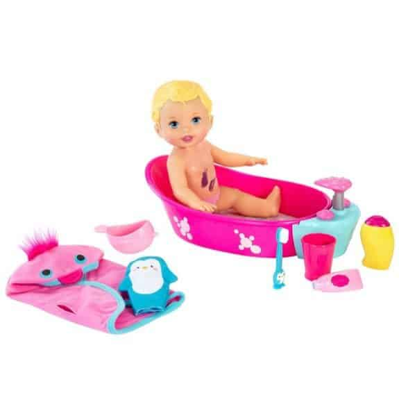 Little Mommy Bubbly Bathtime Baby Doll Only $12.99 (Was $30)